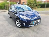 2011 FORD FIESTA 1.2 ZETEC 3DR,43000 MILES, FORD HISTORY,NEW MOT & SERVICE DONE,BARGAIN.