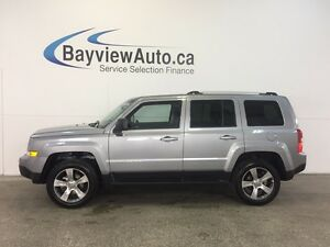 2016 Jeep PATRIOT HIGH ALTITUDE- 4x4! ALLOYS! SUNROOF! LEATHER!