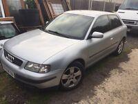 Audi A3 petrol 1.6 1999 LEFT HAND DRIVE