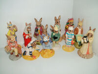 Vintage collection of Royal Doulton porcelain Bunnykins