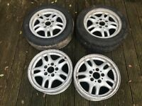 "BMW E36 Sport 16"" wheels alloy alloys drift spares"
