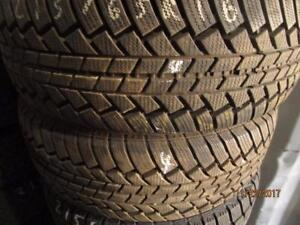 215/65R16 2 ONLY USED INFINITY WINTER TIRES