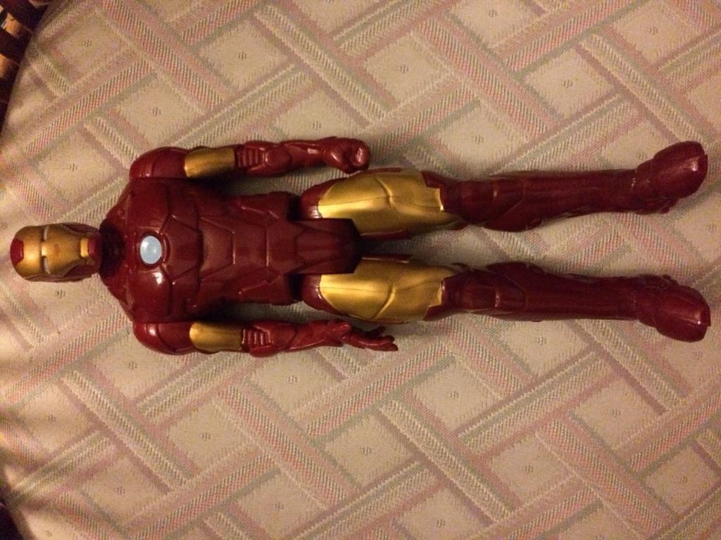 Iron man figure toy