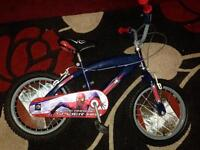 Spider-Man kids bike (16'')