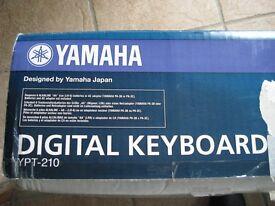 YAMAHA DIGITAL KEYBOARD YPT - 210