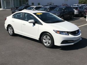 2015 Honda Civic LX ONLY $165 BIWEEKLY WITH $0 DOWN
