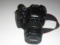 Canon 1100 DSLR camera.