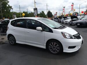 2013 HONDA FIT SPORT- FRONT WHEEL DRIVE, ALLOY WHEELS, SECURITY  Windsor Region Ontario image 7
