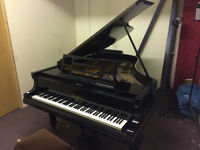Bluthner Grand Piano, 1901, 6'3, Black, refurbished by Knightsbridge Piano