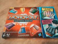Brand New Monopoly Electronic Banking