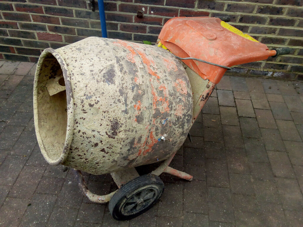 Electric Concrete Mixer Not Working, but     FREE and gone | in