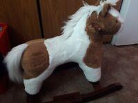 Kids toy rocking horse
