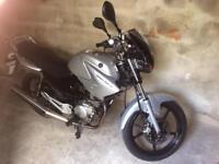Yamaha YBR 125 Silver