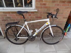 Boardman Hybrid, 54cm, 4 yrs old. Good condition. Well-used but well-cared for and fully serviced.