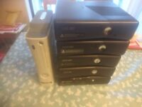 6x Working XBox 360 consoles ( 1x e model , 4x Slim , 1x Phat ) - PLEASE READ
