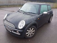 2004 MINI COOPER ONE HATCH, 1.6 PETROL, NICE CLEAN CAR, ENGINE & GEARBOX IS LOVELY, DRIVE AWAY 2DAY