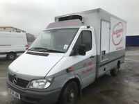 Mercedes Sprinter van fridge freezer van 2004 Year