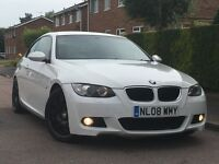 ★ 2008 BMW 320i M SPORT COUPE 2 DOOR + M3 ALLOYS + WHITE + 170 BHP ★