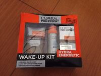Loreal Wake Up kit - for Men Brand New in Box