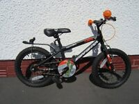 Boys bike 16 inch wheels as new
