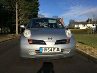 Nissan Micra- low mileage, single owner, 11 months MOT