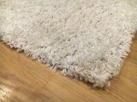 Cream acrylic rug