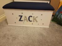 Personalised toy box.
