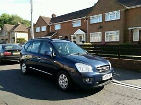 FSH Low Milage 2008 Kia Carens 2.0 CRDi 7 Seater Automatic Diesel Good Runner with long mot