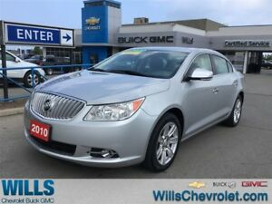 2010 Buick LaCrosse CXL | SUNROOF | LEATHER