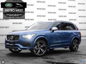 2018 Volvo XC90 T6 R-Design -CLIM|VISION|B&W|CON|LOADED