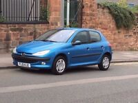 2001 Peugeot 206 1.4 GLX 5 Door Hatchback, Long MOT, Immaculate Condition!