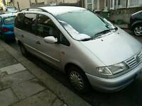 Left hand Volkswagen Sharan in immaculate condition