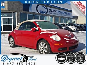 2010 Volkswagen New Beetle CONVERTIBLE - JAMAIS ACCIDENTÉ - A-1