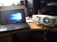 USED NEC VT48 LCD PROJECTOR with REMOTE