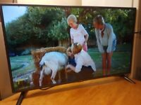 "LG 42"" Inch Slim LED Full HD 1080p TV, USB, 2 x HDMI, Built in Freeview and Freesat"
