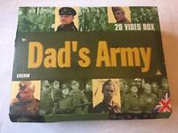 Dads Army VHS Collection Box