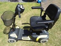 Drive Mercury Prism 4 Travel/Boot Mobility Scooter! BRAND NEW BATTERIES!