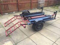 Motorbike/quad trailer for sale