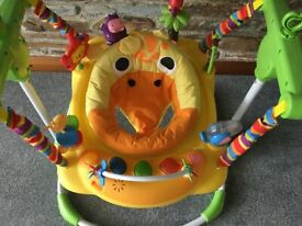 Baby Jumperoo Baby Bouncer New Condition With Tags Assembled