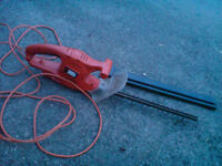 Black & Decker 19 inch 240v hedge trimmer