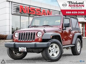2008 Jeep Wrangler X Leather 6 Speed Soft Top