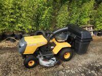 "Partner ride on lawnmower mower 42"" cut hydro"