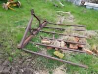 Tractor Buckrake