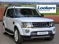Land Rover Discovery SDV6 LANDMARK (white) 2016-03-31