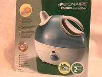 Bionaire Compact Ultrasonic humidifier