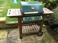Double burner gas bbq -no texts please read description