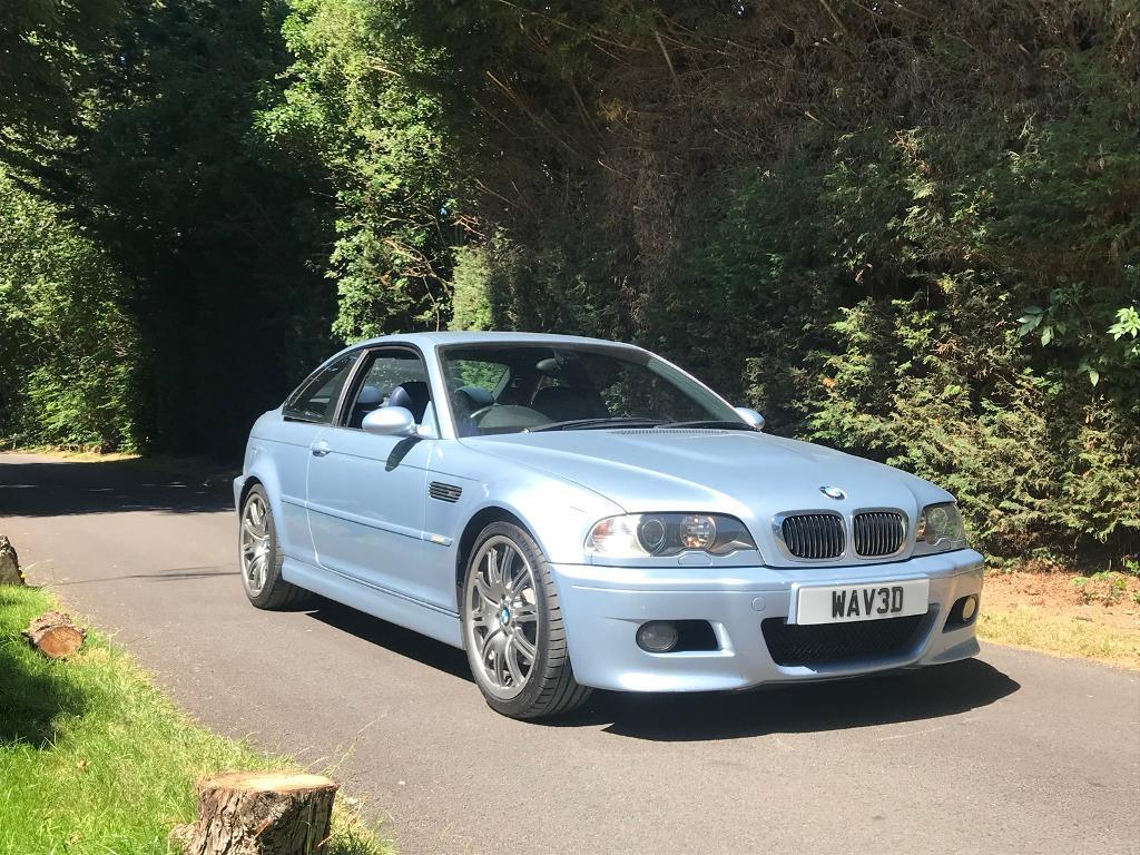 BMW E46 M3 SILVERSTONE EDITION INDIVIDUAL 2004/54 115K FULL SERVICE HISTORY COUPE  MANUAL NOT RS4
