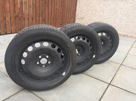 3 seat Ibiza wheels 16 inch