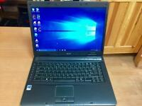 Acer HD 3GB Ram Quick Laptop 250GB,Window10,Microsoft office,Ready to use