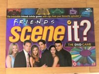 Friends Scene it DVD board game + Friends DVD sets